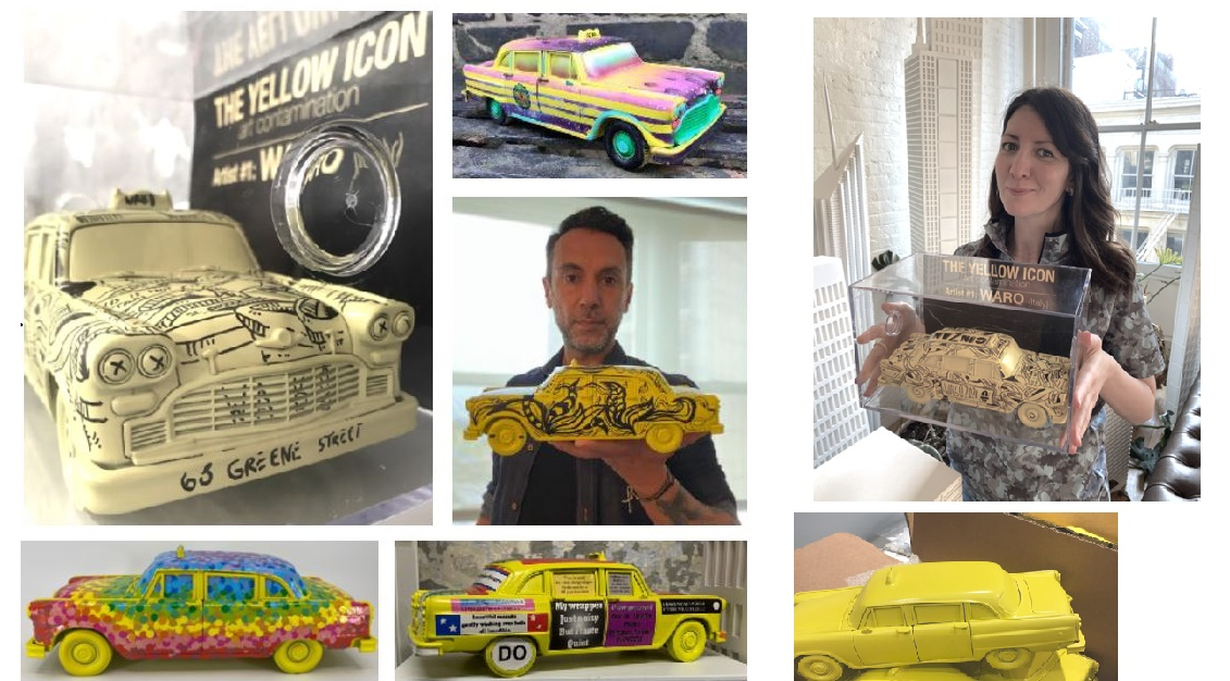 The Yellow Cab Project, 2020 Remembering Marco Charity Initiative for the Gilda's Club for COVID-19 relief program