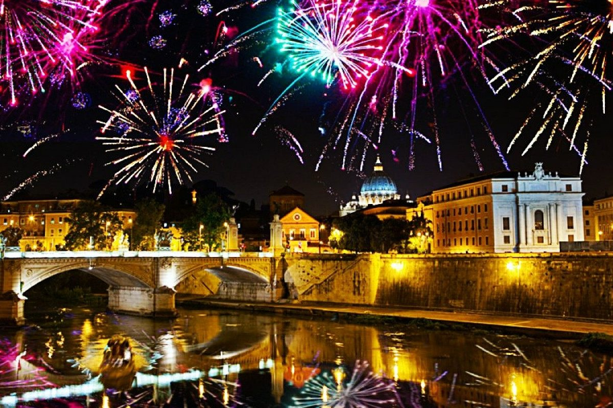 When in Rome, celebrate New Year's Eve as the Romans do