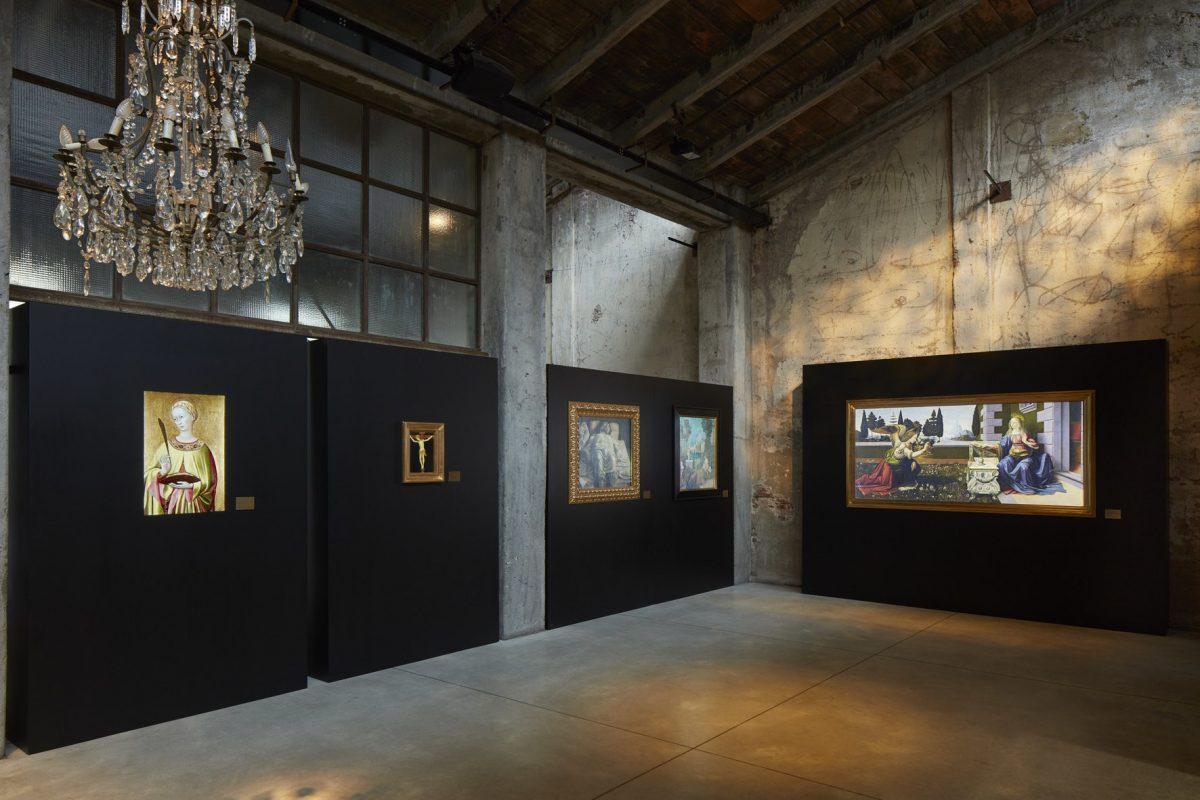 Italian art masterpieces turned into Digital Art Works